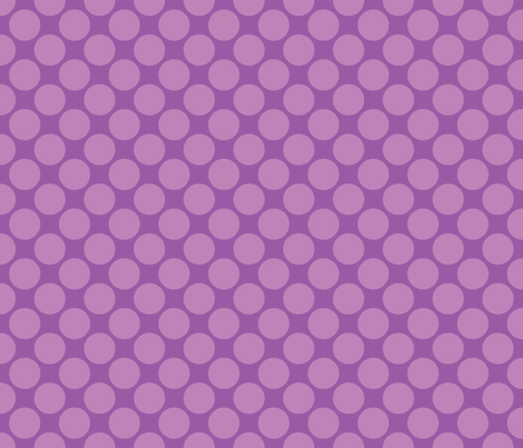 Purple Circus Polk fabric by mayabella on Spoonflower - custom fabric