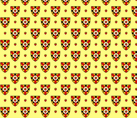 Heraldry Jam fabric by siya on Spoonflower - custom fabric