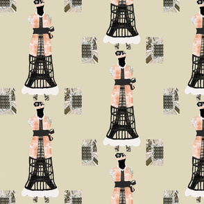 Dress Form Eiffel Tower
