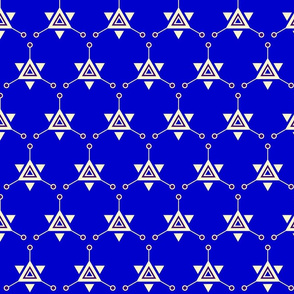 Triangular Galactic Blue