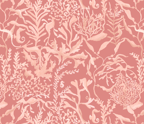 Seahorses fabric by daughter_earth on Spoonflower - custom fabric