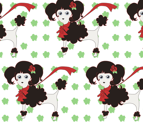 POODLE fabric by uniz on Spoonflower - custom fabric