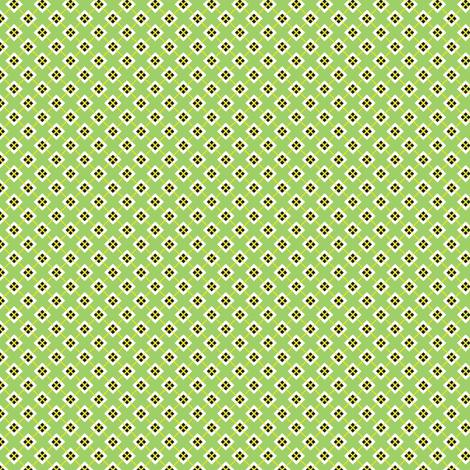 Green Squares fabric by siya on Spoonflower - custom fabric
