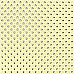 Tartan Cross White
