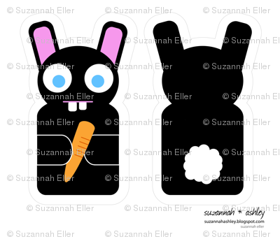 Bunny Puppet - suzannah ashley