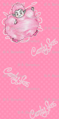 Candy Floss - Pink