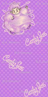 Candy Floss - Purple
