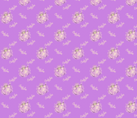 Candy Floss - Purple fabric by siya on Spoonflower - custom fabric