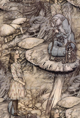 Alice & The Caterpillar ~ small