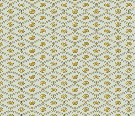 Meiji Diamonds fabric by siya on Spoonflower - custom fabric