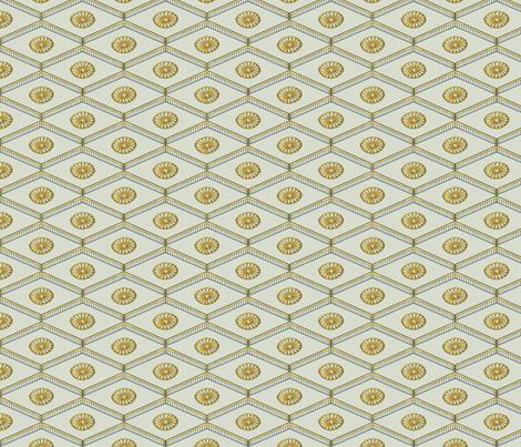 Meiji Diamonds fabric by siya on Spoonflower - custom fabric