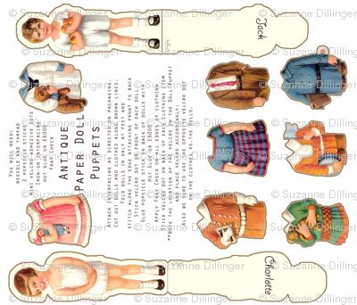 Grandma's Paper Dolls