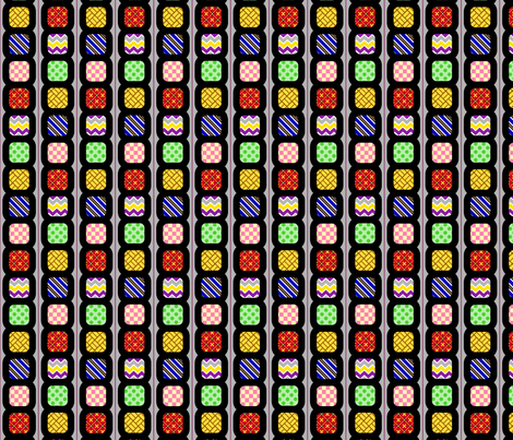 Pattern Blocks fabric by siya on Spoonflower - custom fabric