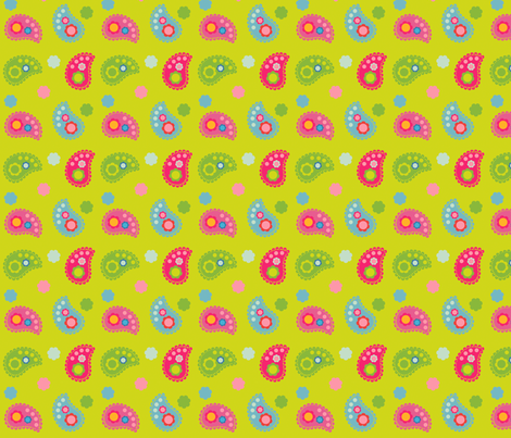 paisley fabric by fhiona on Spoonflower - custom fabric