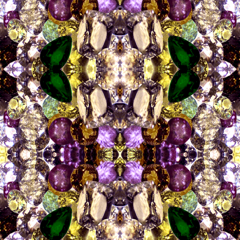 violet gems fabric by paragonstudios on Spoonflower - custom fabric