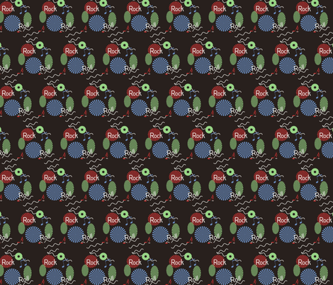 retro_rocknroll-ed fabric by scashwell on Spoonflower - custom fabric