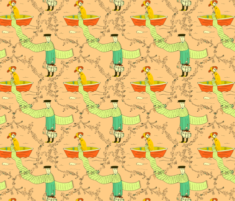 mildred knew he would remember... fabric by mummysam on Spoonflower - custom fabric