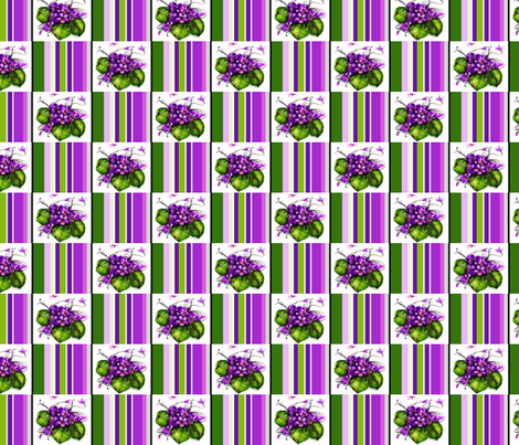 Violet / Check Small fabric by paragonstudios on Spoonflower - custom fabric