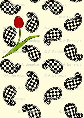 Paisleys and Tulips