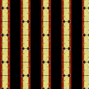 Stained Glass Stripes