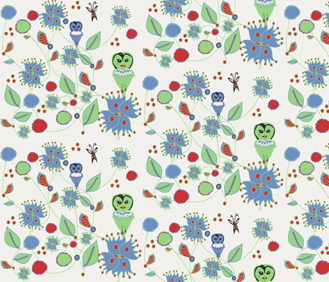 1950_fabric2 fabric by cht222 on Spoonflower - custom fabric