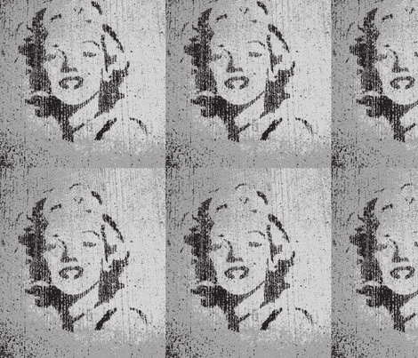 Concrete Marylin fabric by twoboos on Spoonflower - custom fabric