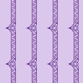 celtic ribbon 2 purple