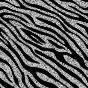 Fuzzy Zebra - Dark