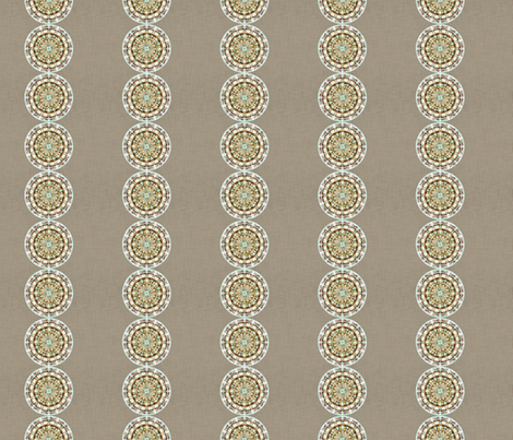 Daisy Chain fabric by kristopherk on Spoonflower - custom fabric