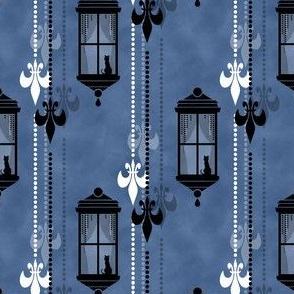 Rainy Fleurs - Bleu