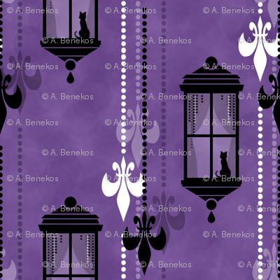 Rainy Fleurs - Violet