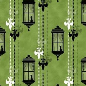 Rainy Fleurs - Olive