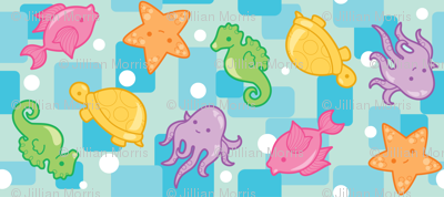 Bright Ocean Critters