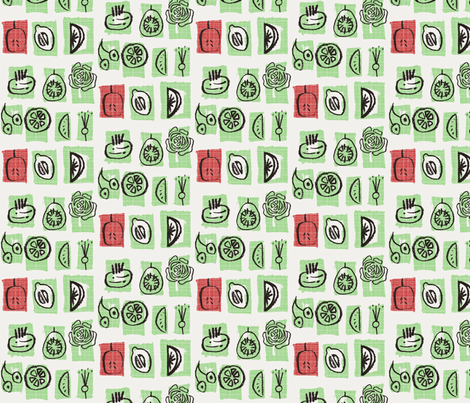 SSvege50s fabric by sarah_58CpHMnI on Spoonflower - custom fabric