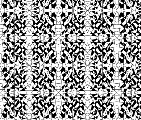 Midnight ala Geometrics fabric by societydeb on Spoonflower - custom fabric