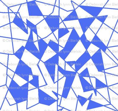 Royal Blue ala Geometrics