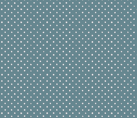 Blue Polka Dot Madness fabric by bella_modiste on Spoonflower - custom fabric