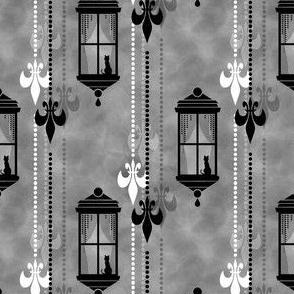 Rainy Fleurs - Gris
