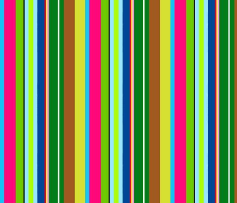 TiKi / Bright fabric by paragonstudios on Spoonflower - custom fabric
