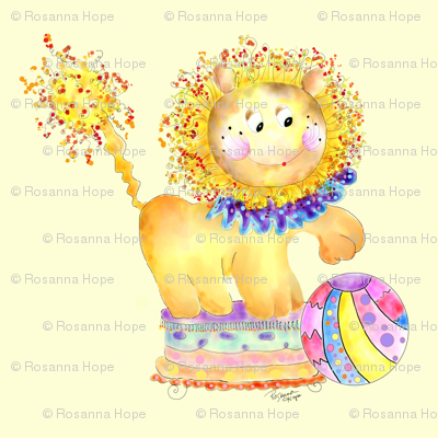 Mc Lion Goes to the Circus by Rosanna Hope by Babybonbons