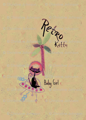 Retro Kitty / Pale