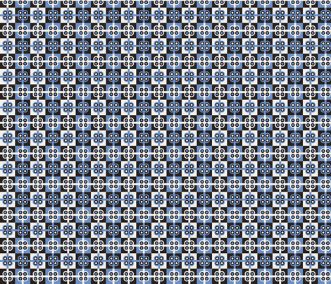 Blueberry Plaid fabric by pixeldust on Spoonflower - custom fabric