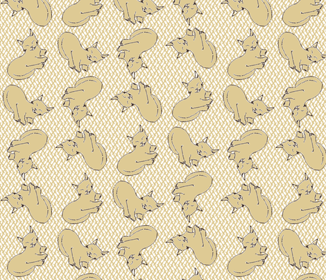 Cat Nap fabric by kdl on Spoonflower - custom fabric