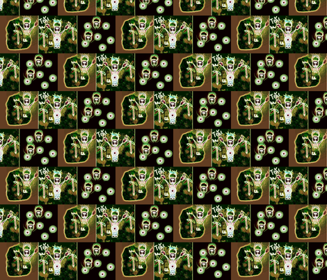 TiKi / Block Party fabric by paragonstudios on Spoonflower - custom fabric