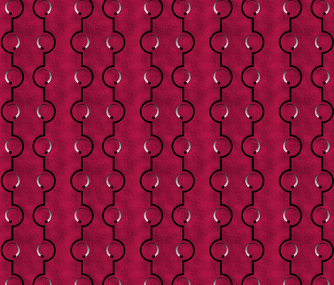 Raspberry Dial fabric by siya on Spoonflower - custom fabric