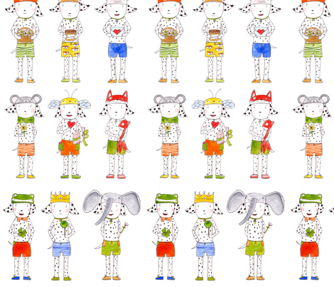 dalmatiner fabric by felicitate88 on Spoonflower - custom fabric