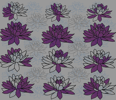 lotusfabric fabric by bymindy on Spoonflower - custom fabric