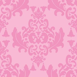 Delicious Damask in Light Carnation Pink
