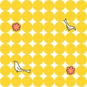 Yellow Merriweather Dots