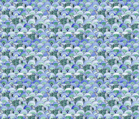 coquille de poisson fabric by nadja_petremand on Spoonflower - custom fabric